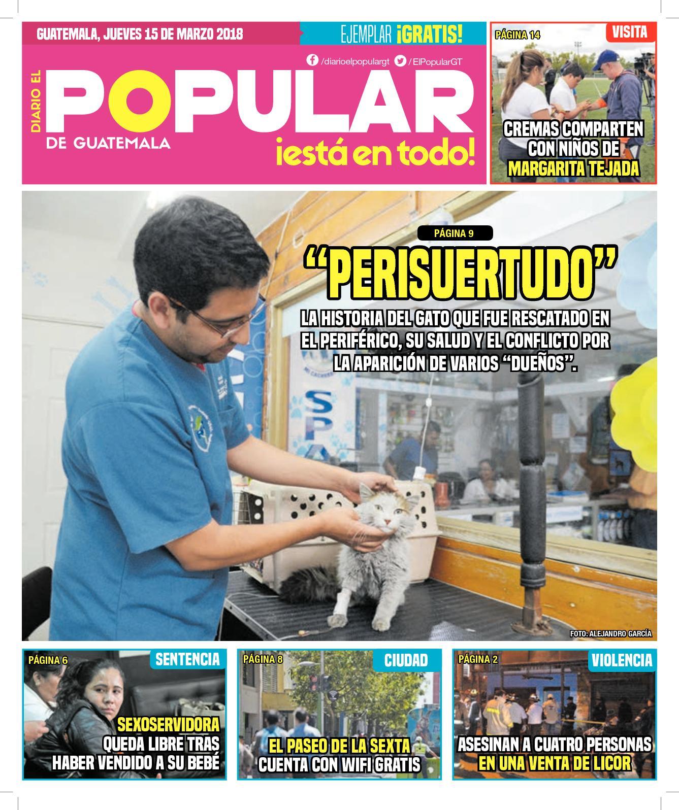 EL POPULAR GUATEMALA 15032018