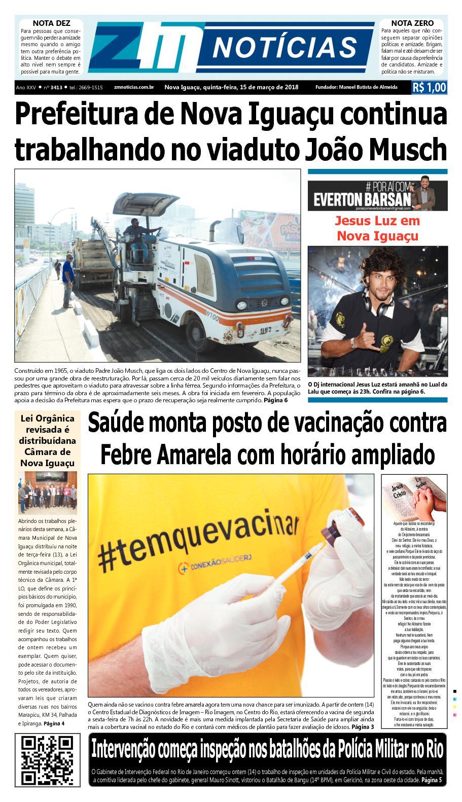 ZM Noticias - Edição 150318