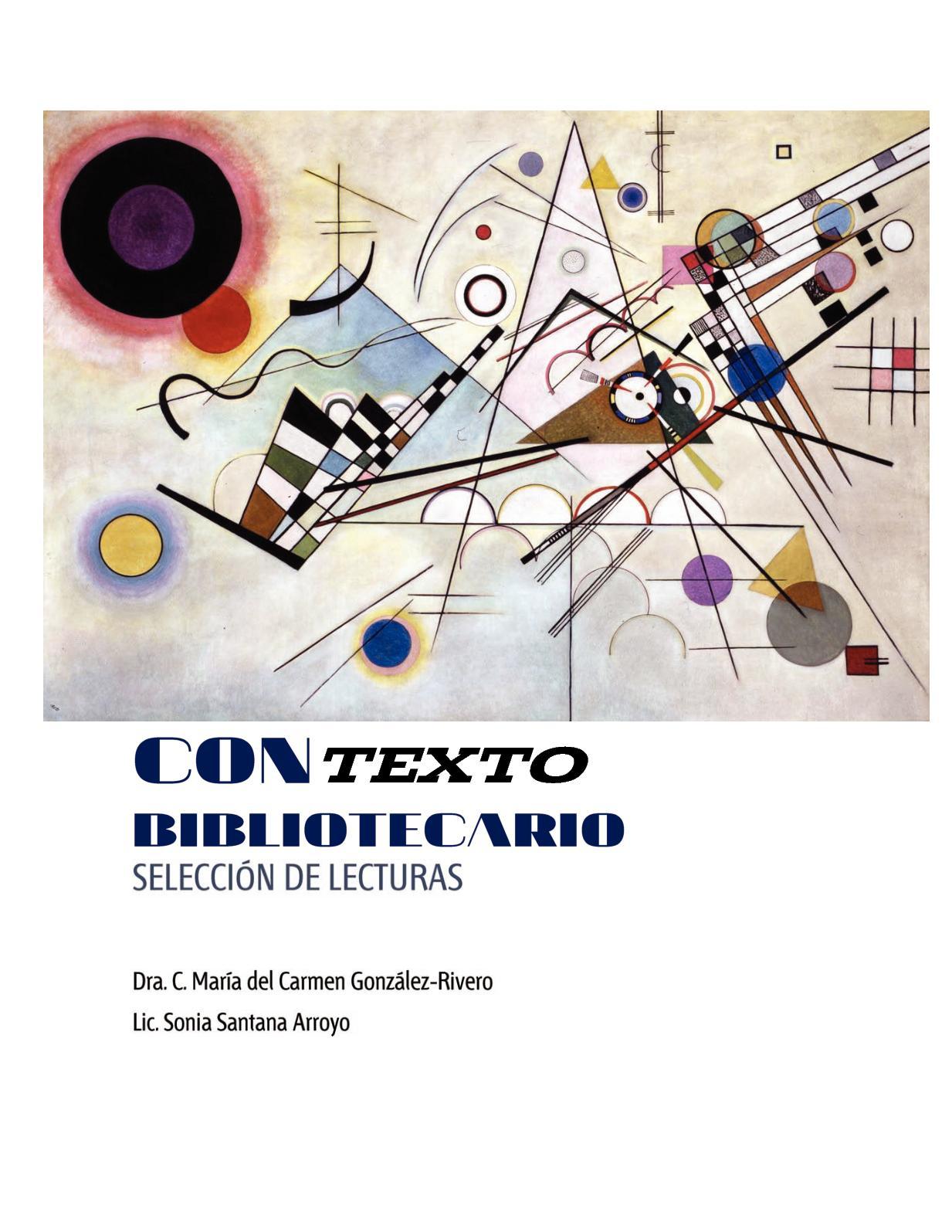 Calaméo - Contexto Bibliotecario Selecci Gonzalez Rivero, Maria Del Carm