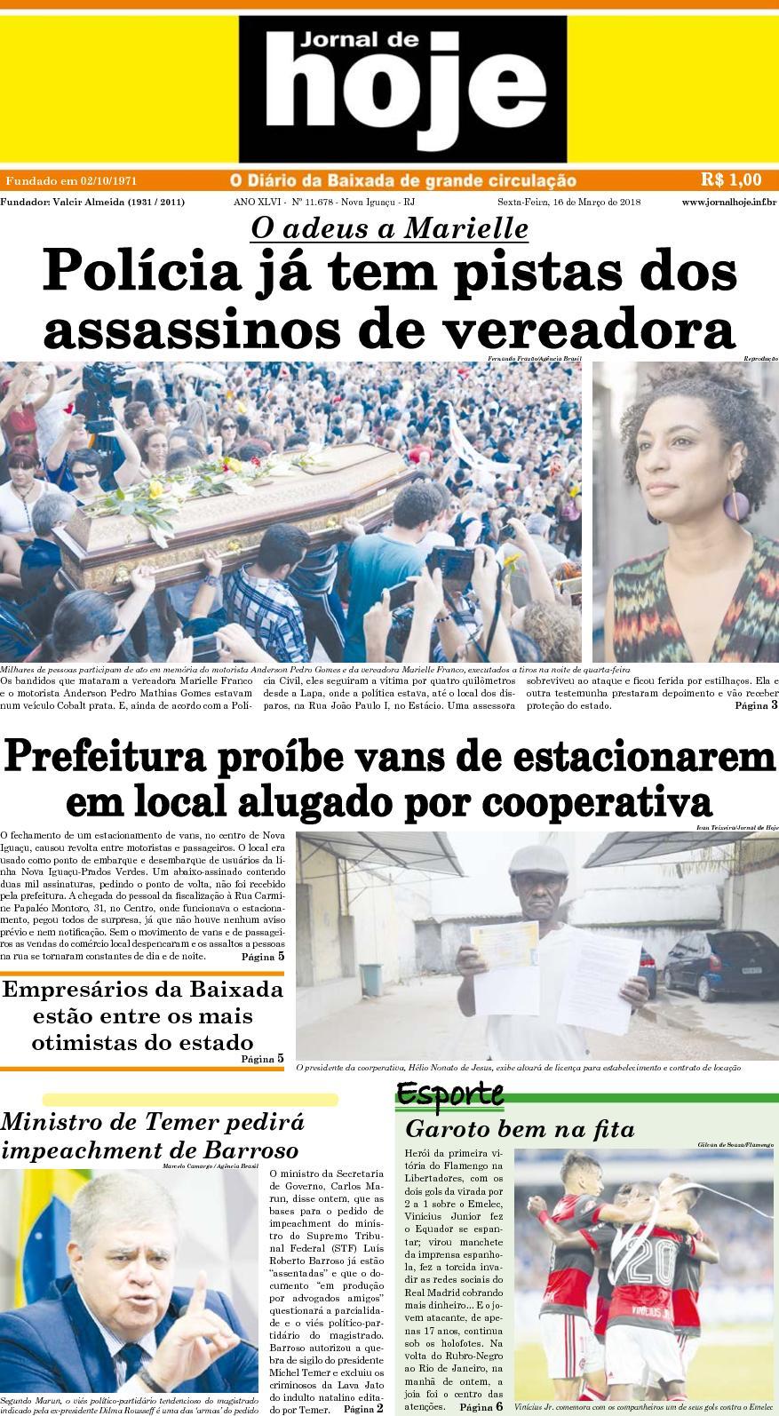 Jornal De Hoje 160318