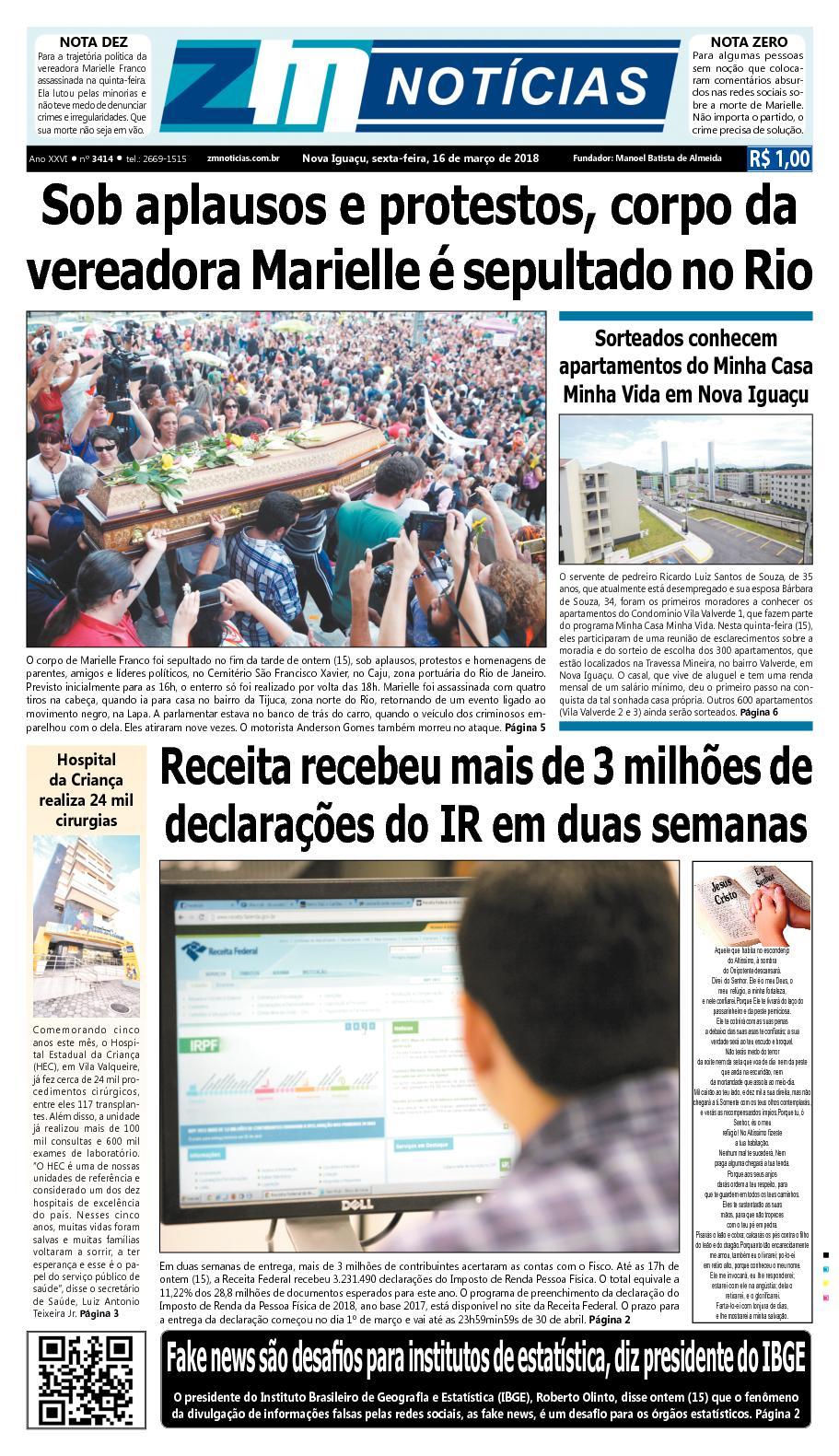 ZM Noticias - Edição 160318