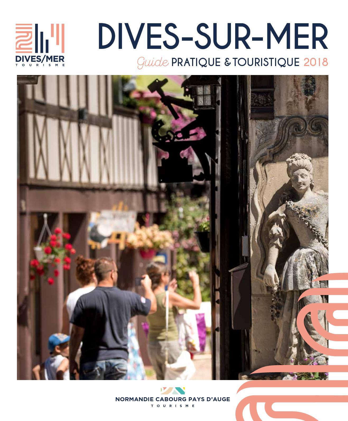 Calam o guide touristique 2018 dives sur mer - Office de tourisme dives sur mer ...