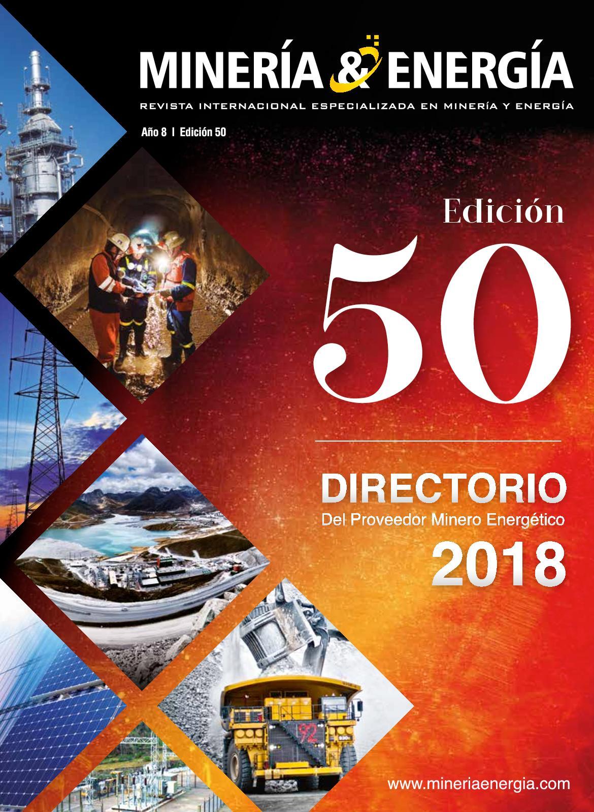 Revista Minería y Energía Edición Nº 50