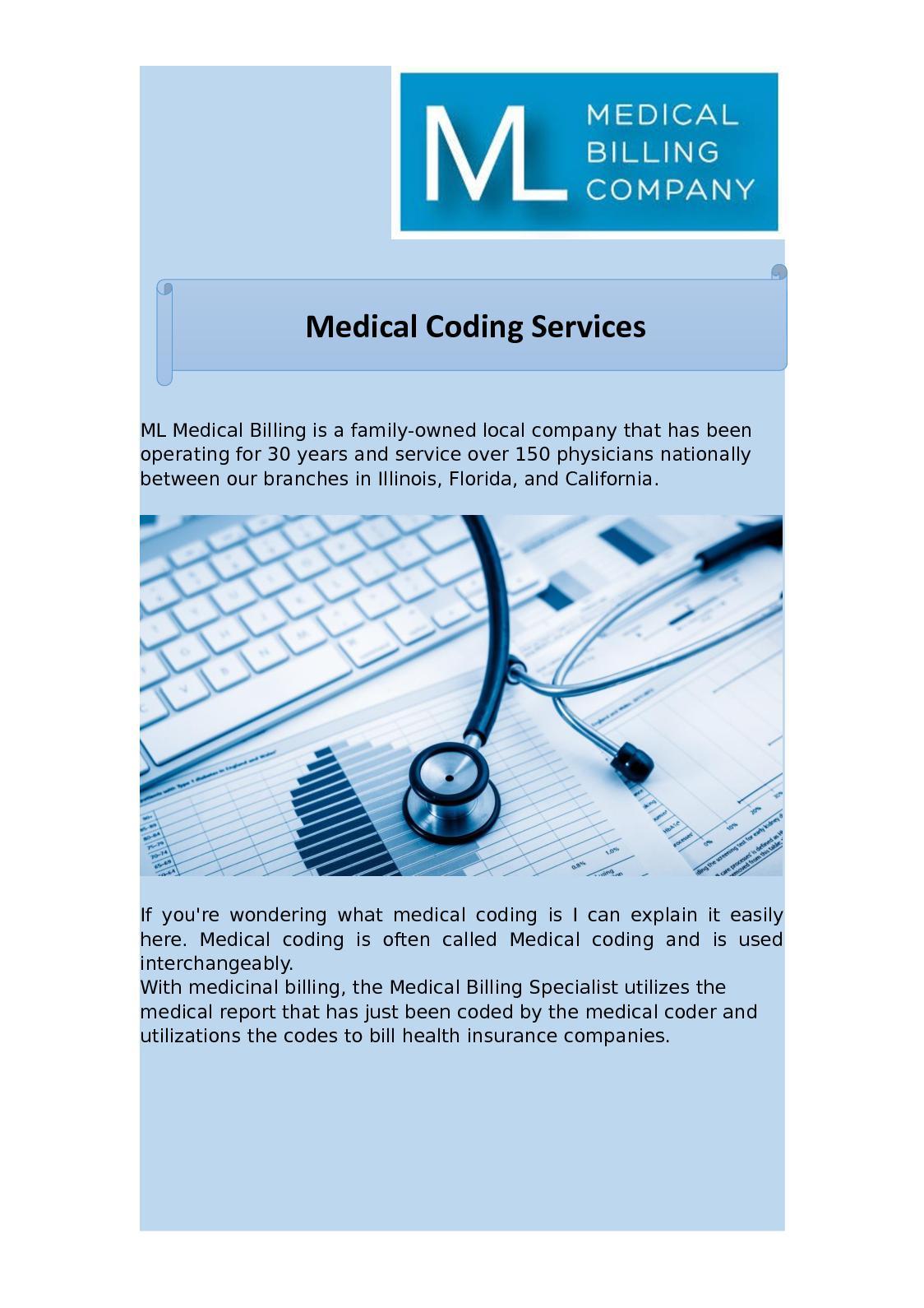 Calamo Medical Coding Service Mlbilling
