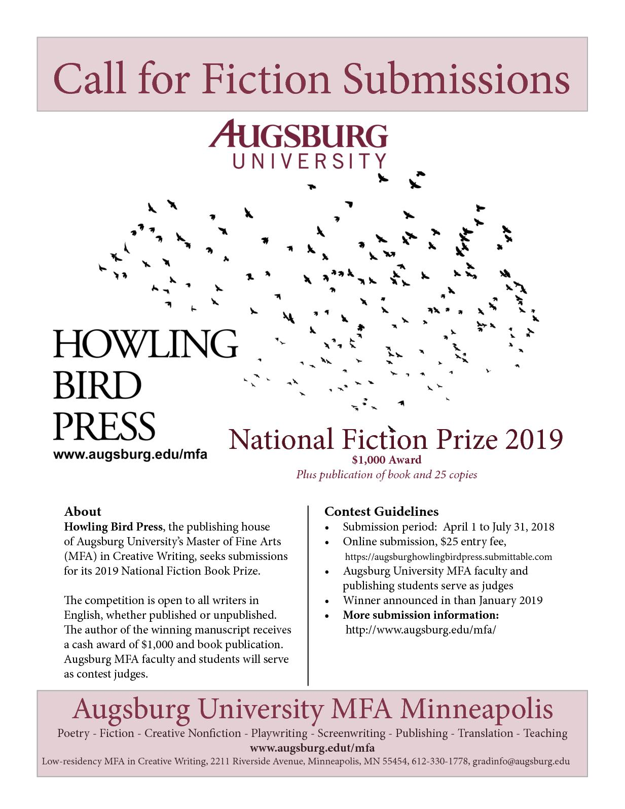 augsburg college low-residency mfa in creative writing Poet heid e erdrich, a member of the turtle mountain band of ojibwe, was born in breckenridge, minnesota, and raised in nearby wahpeton, north dakota, where her ojibwe mother and german american father taught at the bureau of indian affairs boarding school.