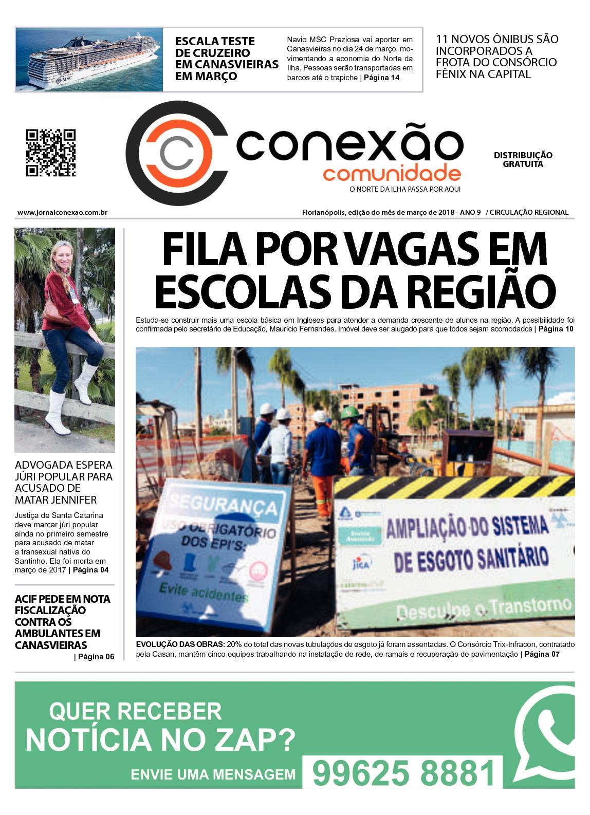 JORNAL CONEXÃO COMUNIDADE MARÇO 2018
