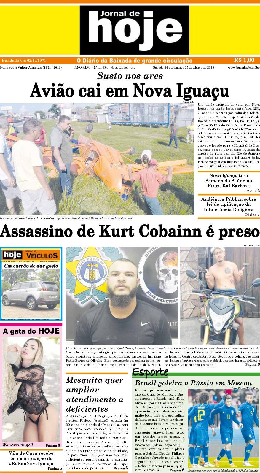 Jornal De Hoje 240318