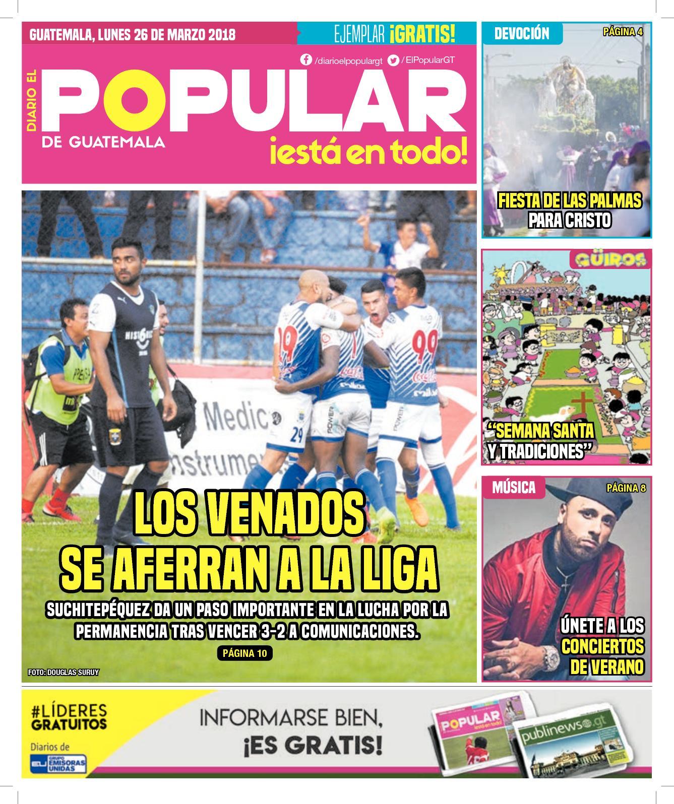 EL POPULAR GUATEMALA 26032018