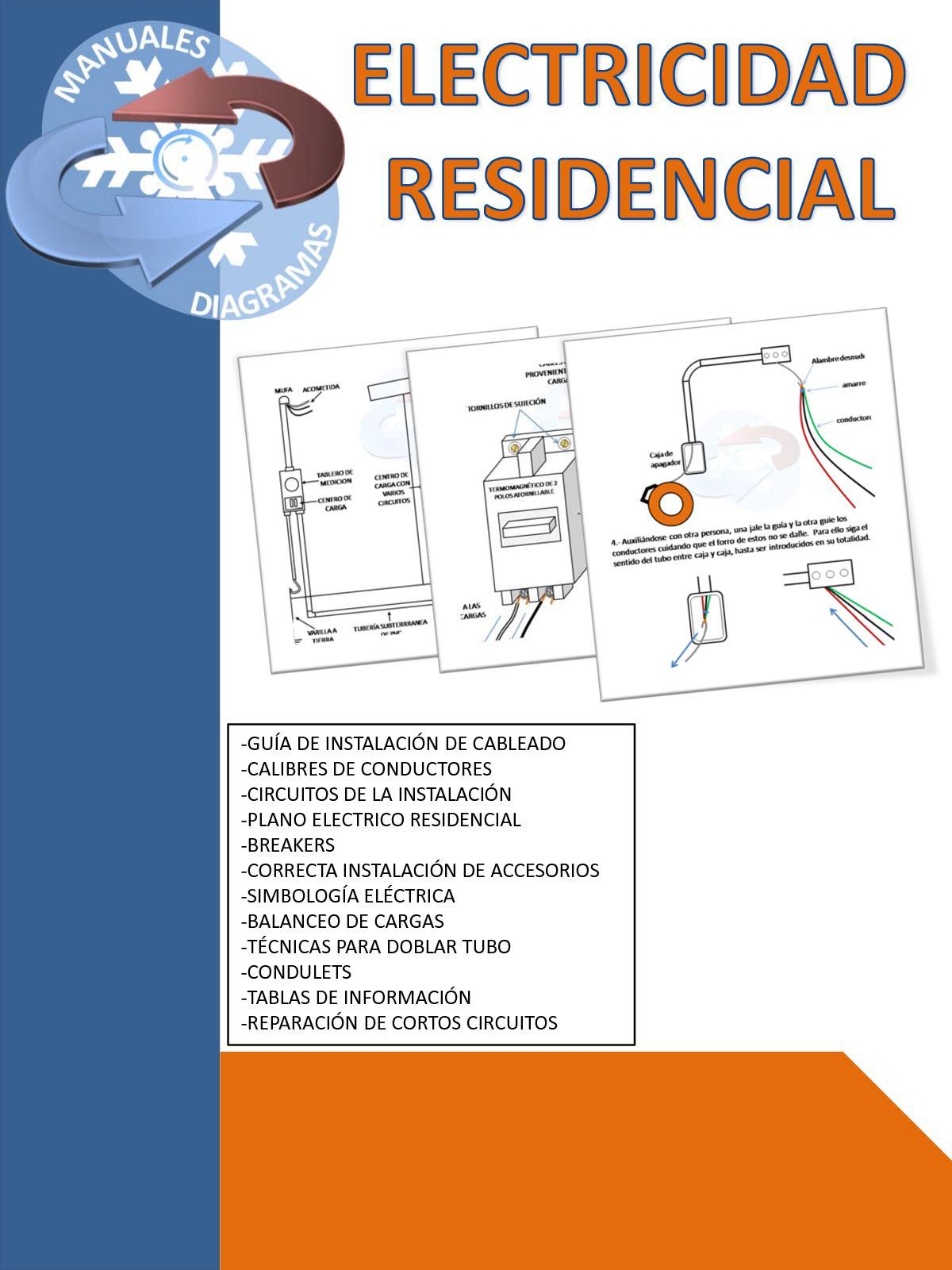 Electricidad Residencial Manualesydiagramas Blogspot Com