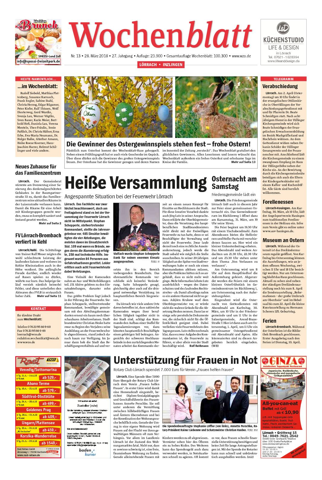 Calaméo - Wochenblatt-Loerrach