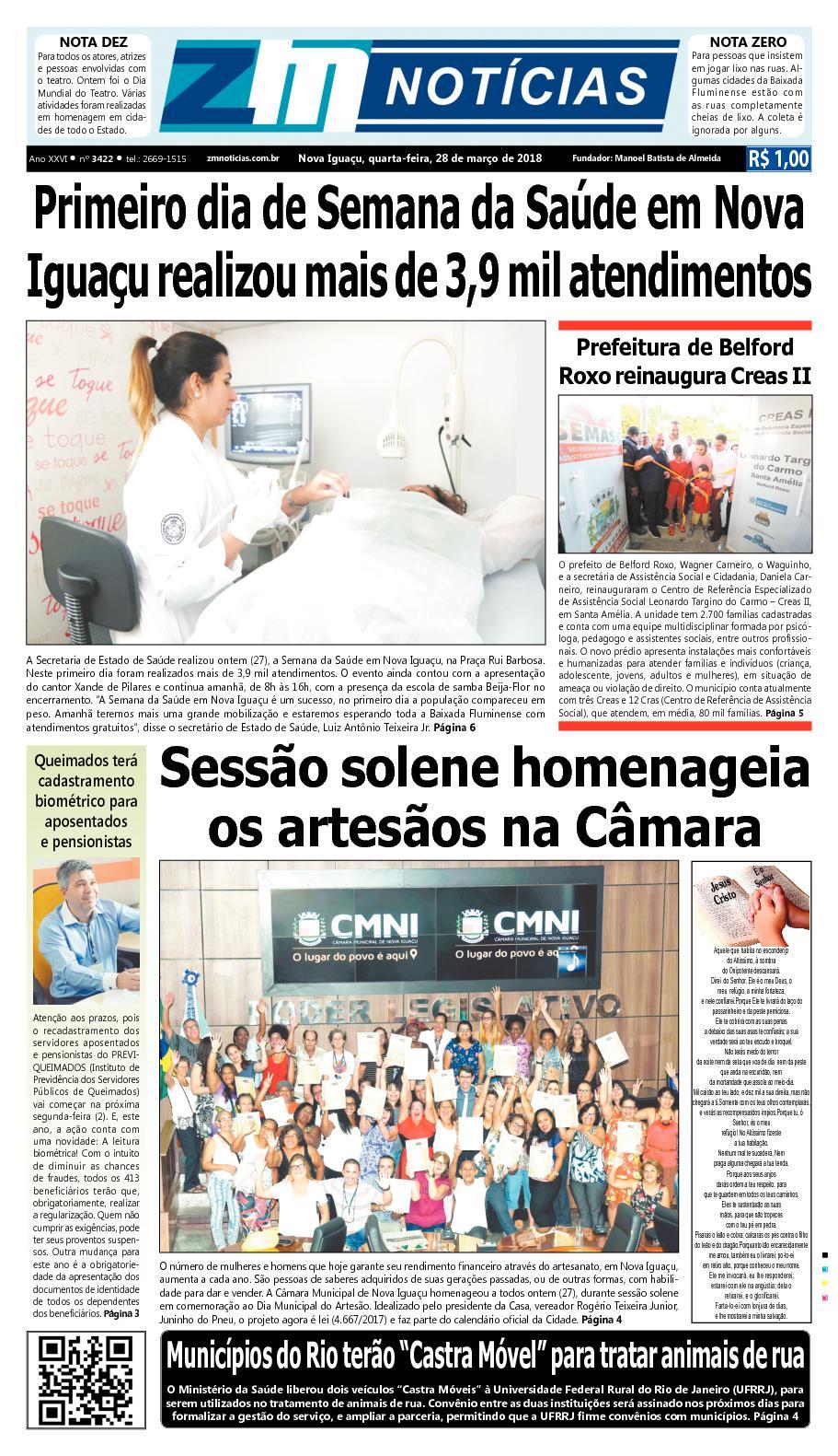 ZM Noticias - Edição 280318