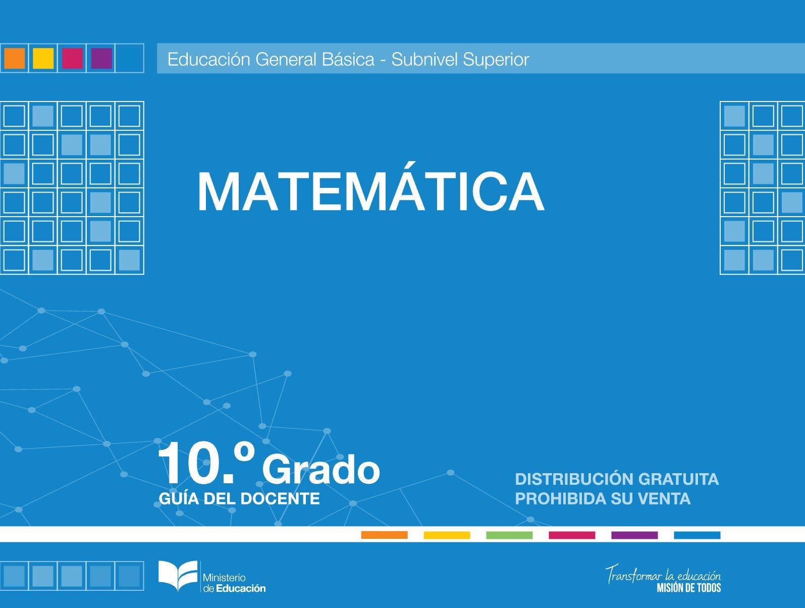 Calaméo - Matemática Guía 10 Informacionecuador Com