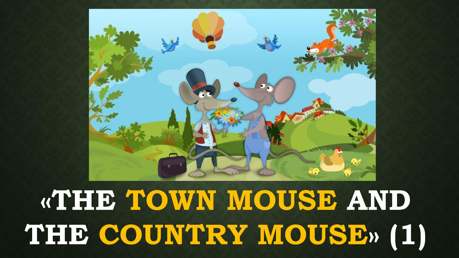 Calamo The Town Mouse And Country