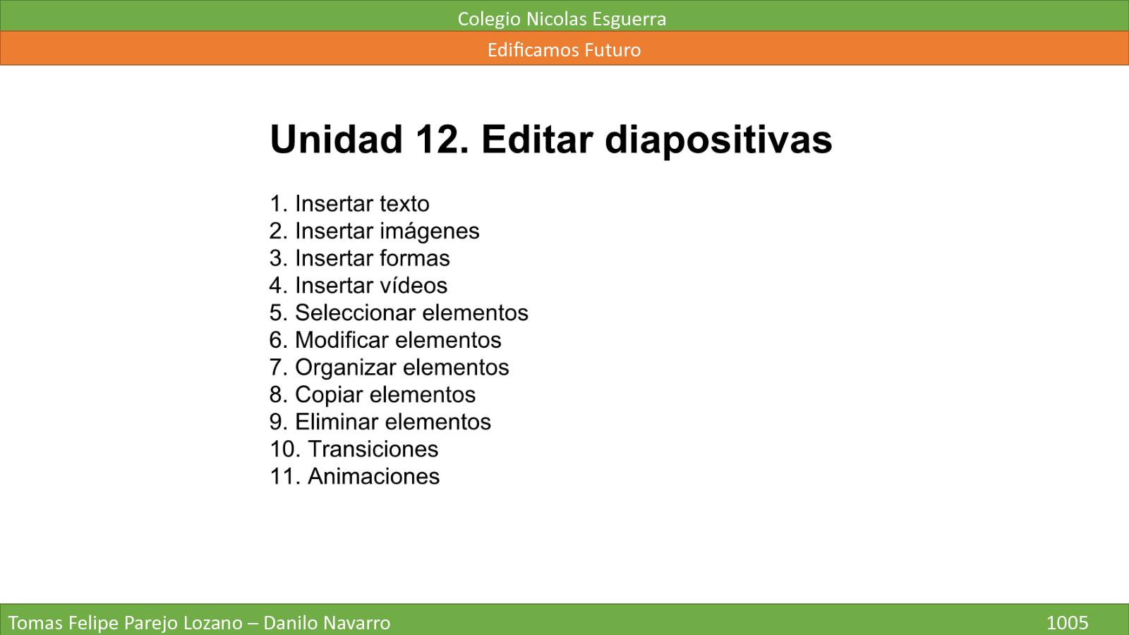 Unidad 12