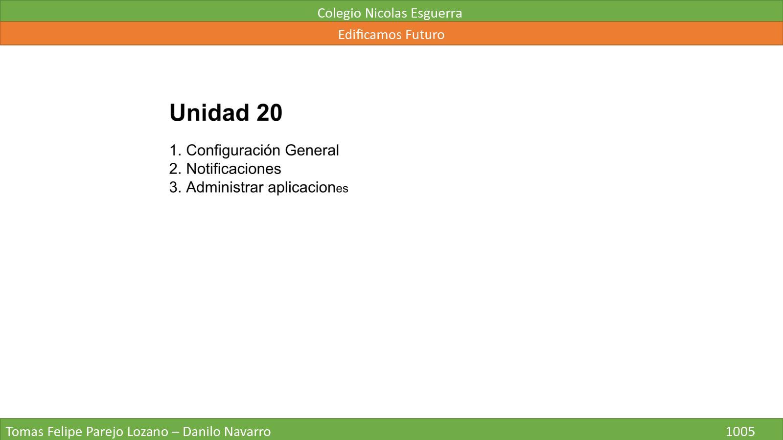 Unidad 20