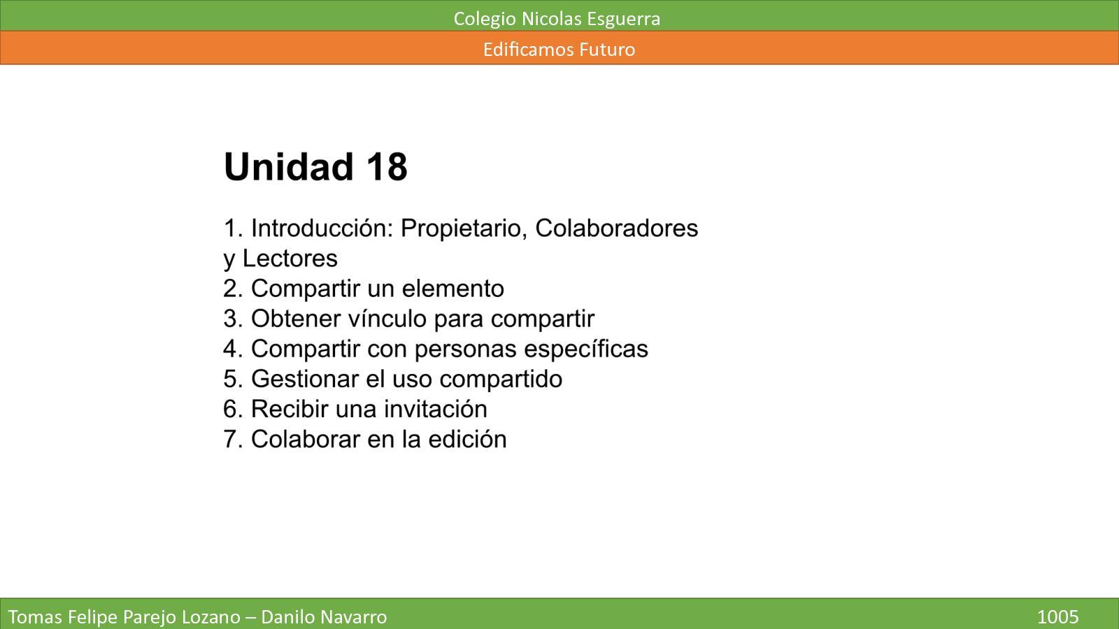Unidad 18