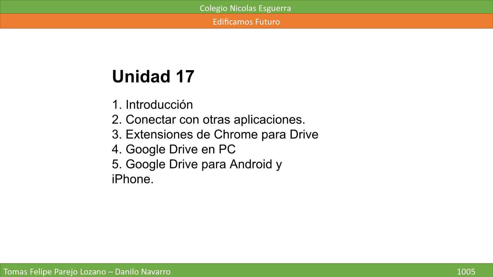 Unidad 17