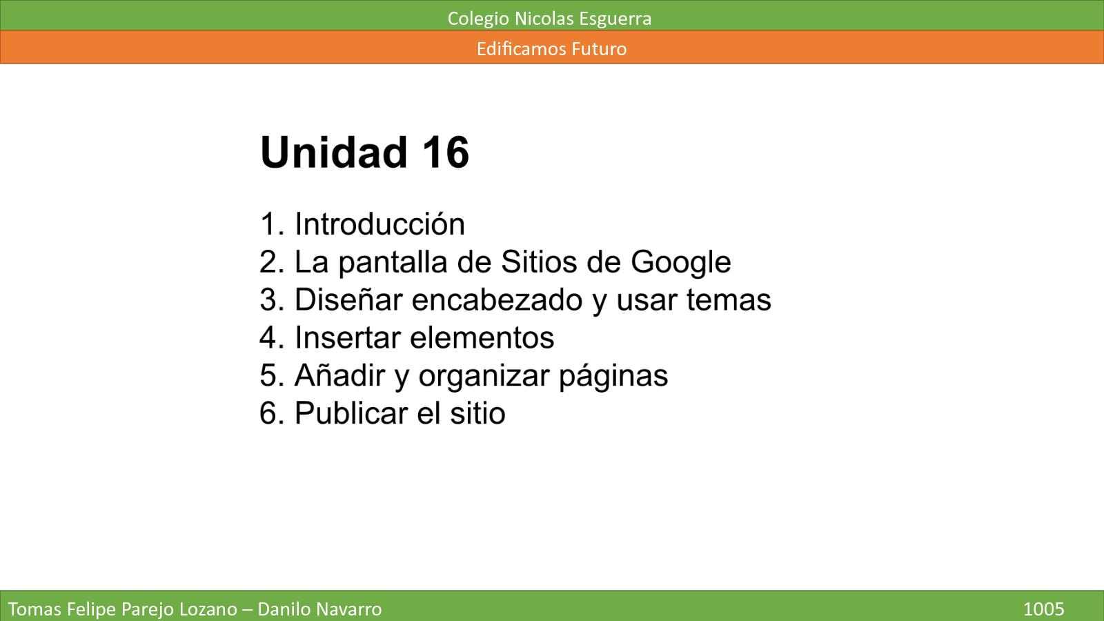 Unidad 16