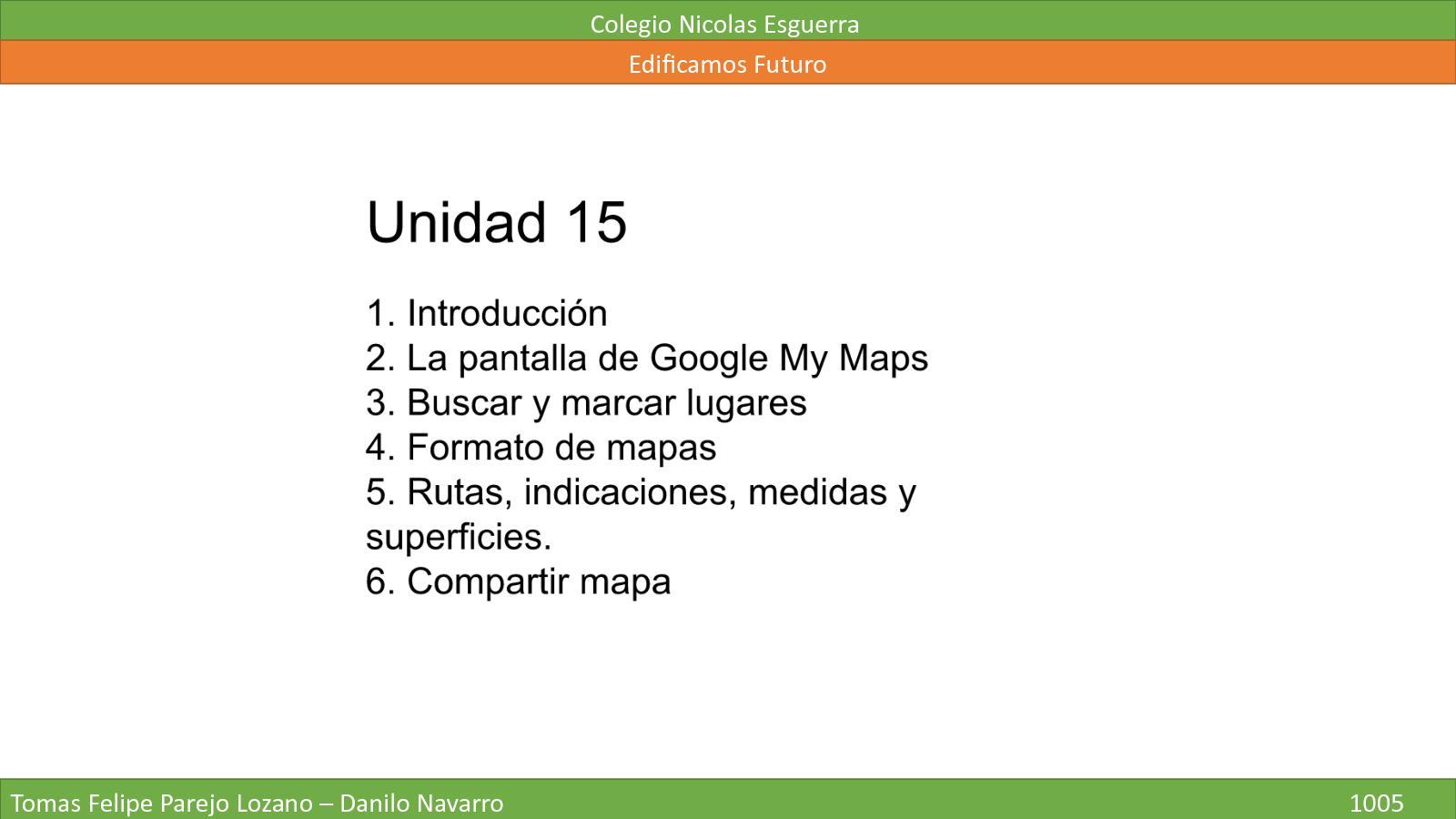 Unidad 15