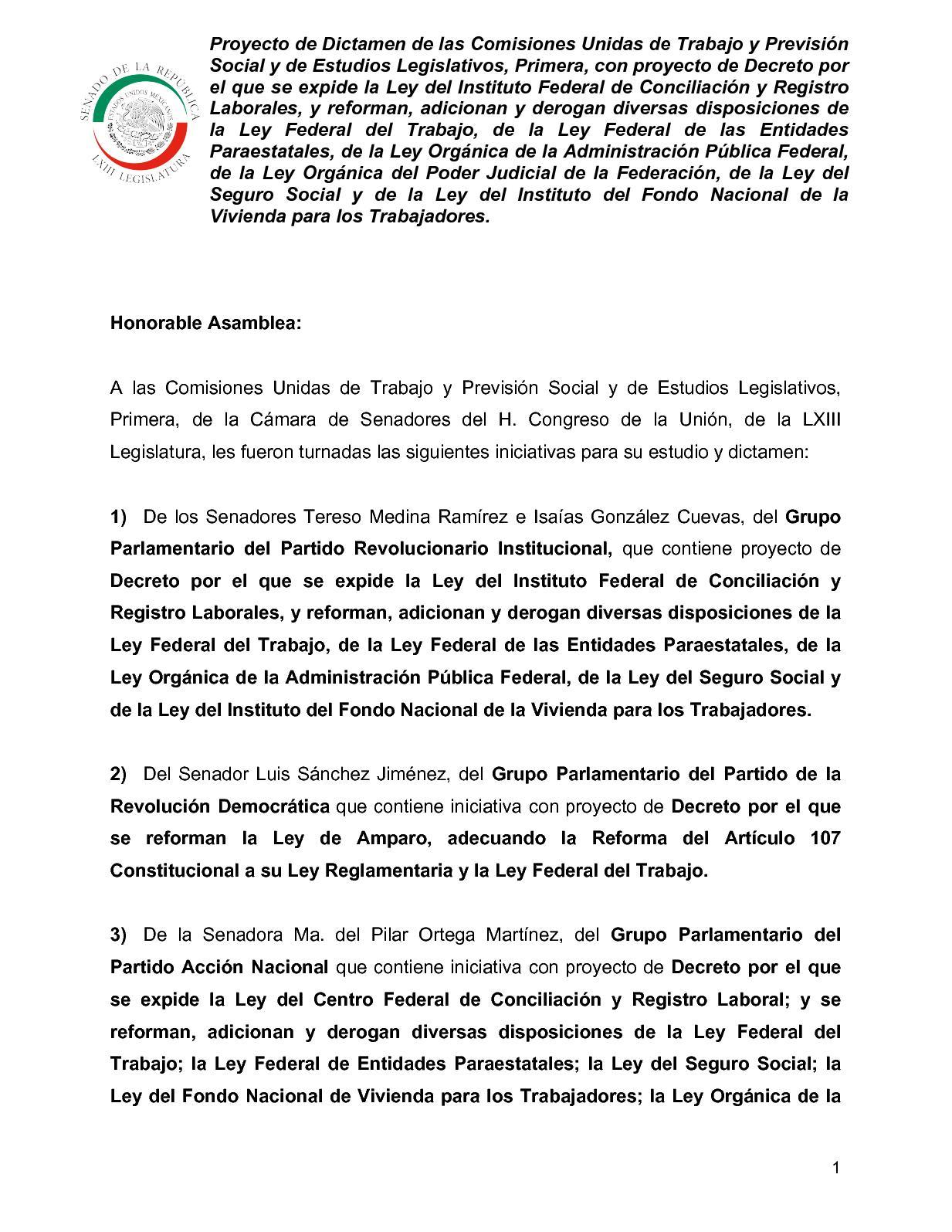 Calaméo - Proyecto Nueva Reforma Laboral Marzo 2018