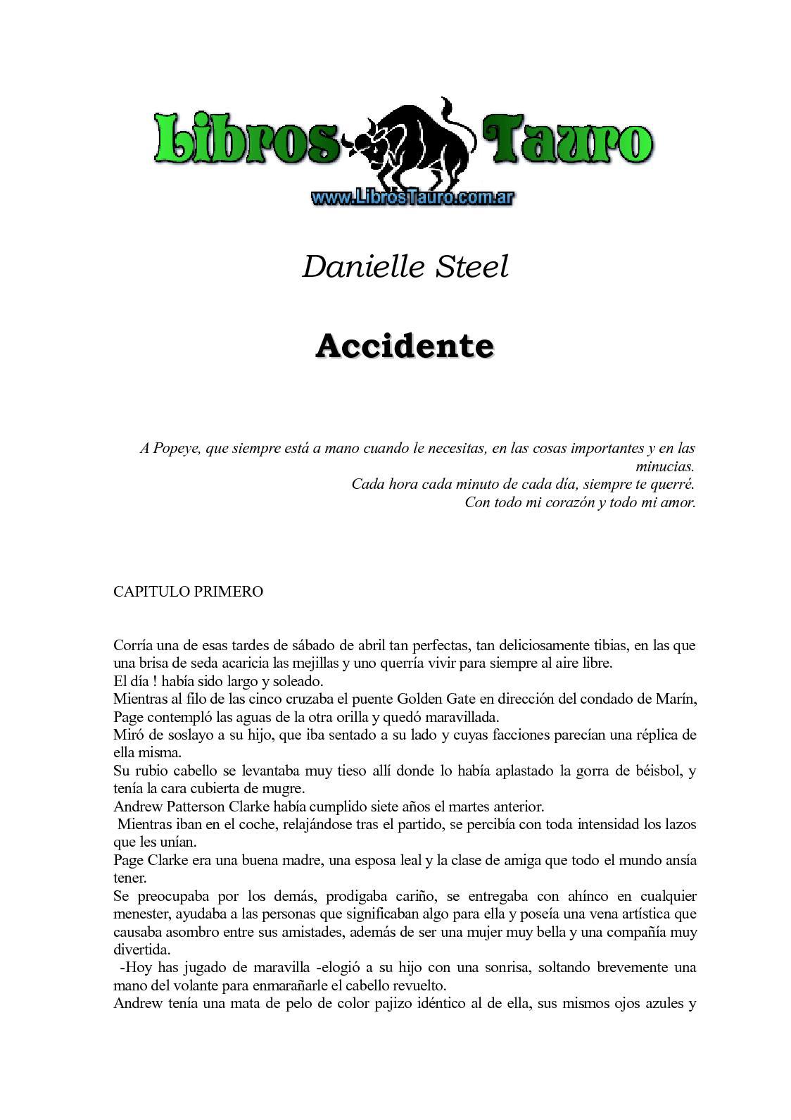Calaméo - Steel, Danielle - Accidente