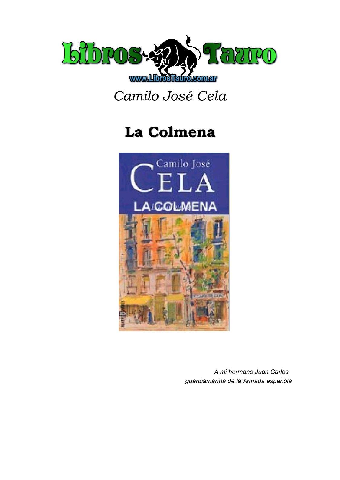 Calaméo - Cela, Camilo Jose - La Colmena
