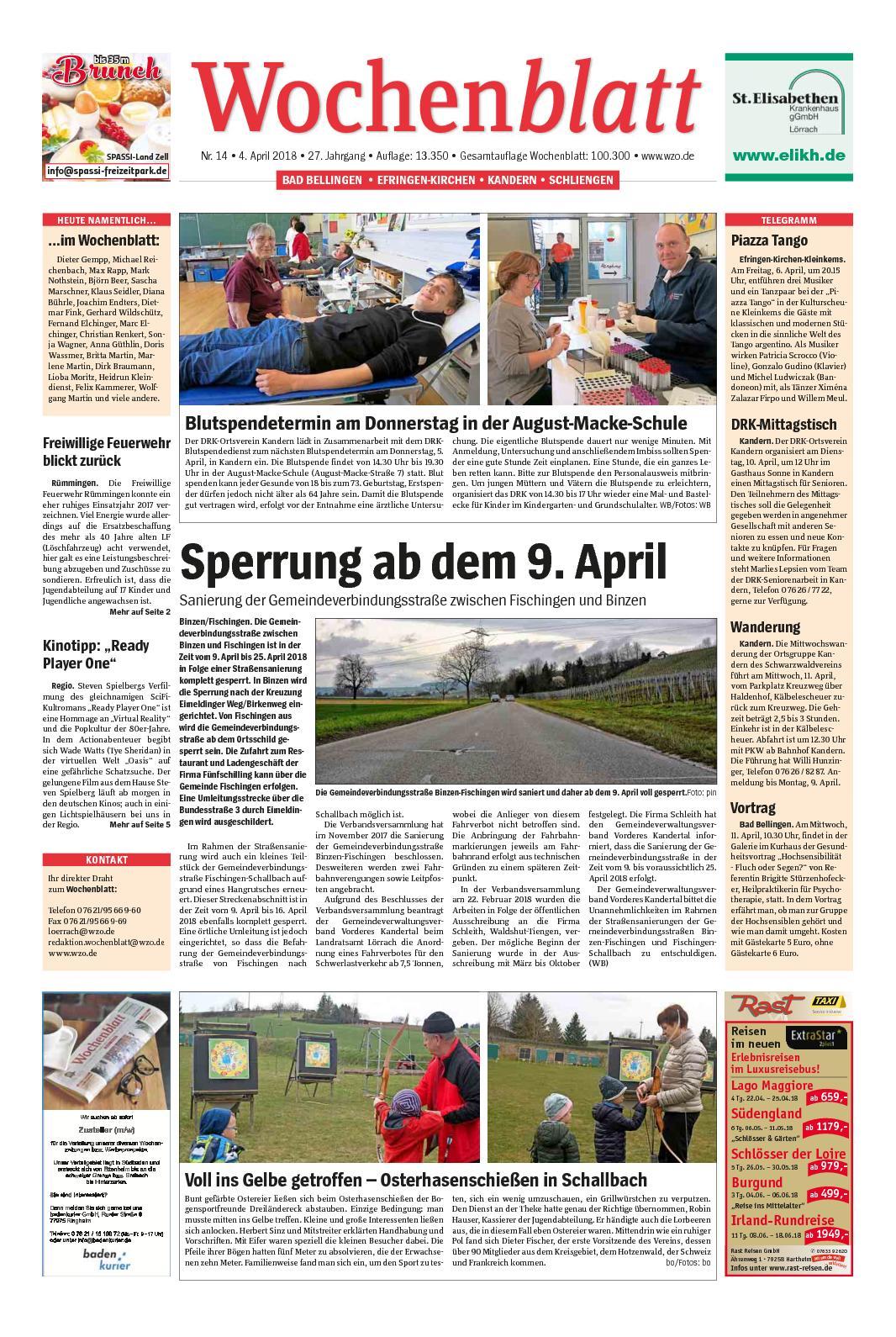 Calaméo - Wochenblatt-Markgraeflerland
