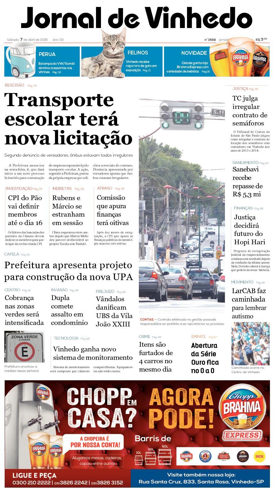e67ecca4abf44 Calaméo - Jornal De Vinhedo Sabado 07 De Abril De 2018 Edic1687