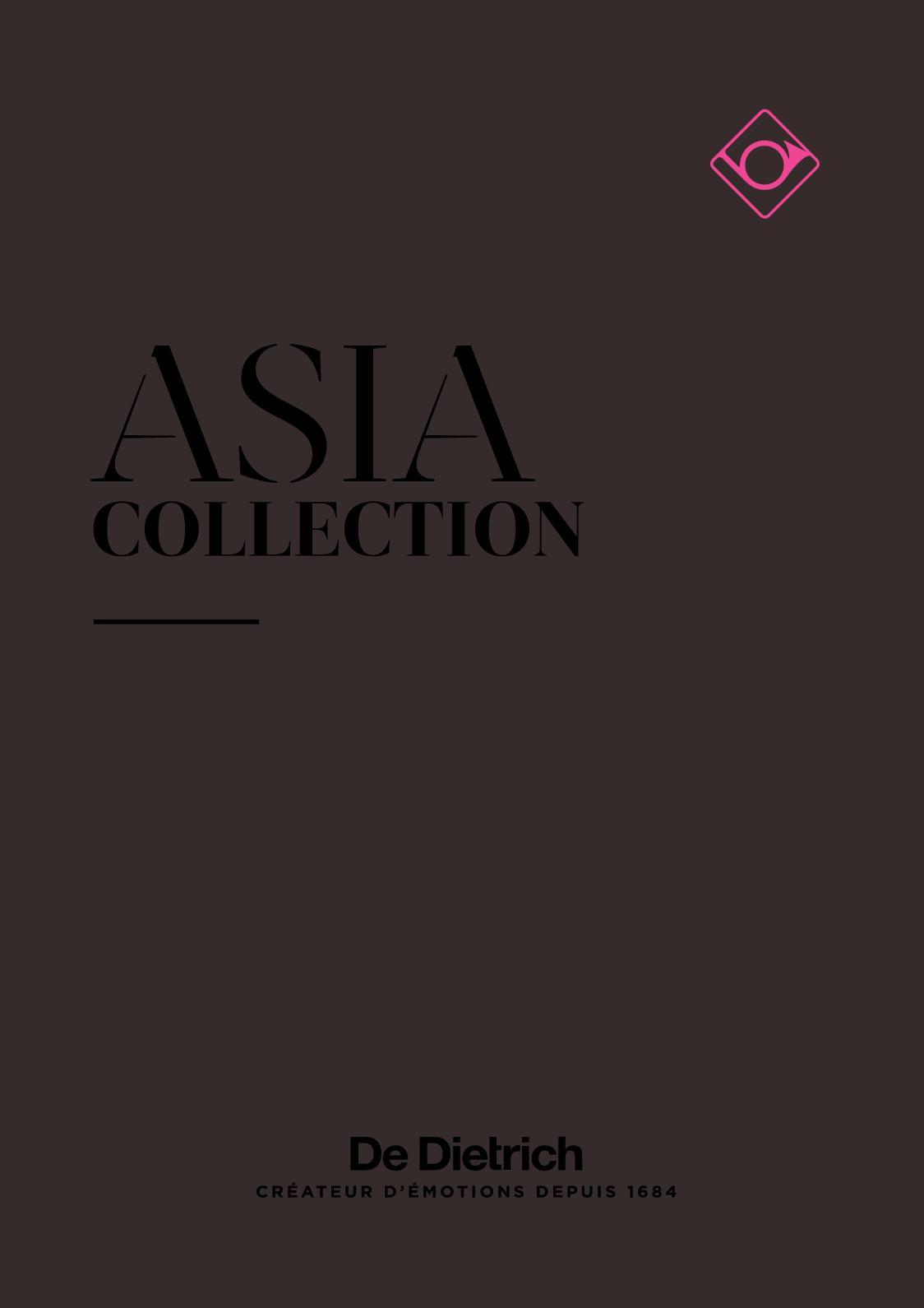 Calamo De Dietrich Asia Catalogue Fascination Collection 2018