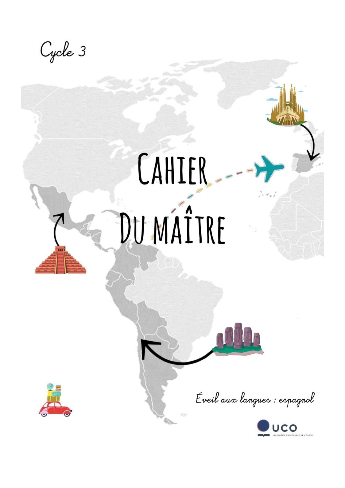 Cahier du maître - Cycle 3 - Espagnol