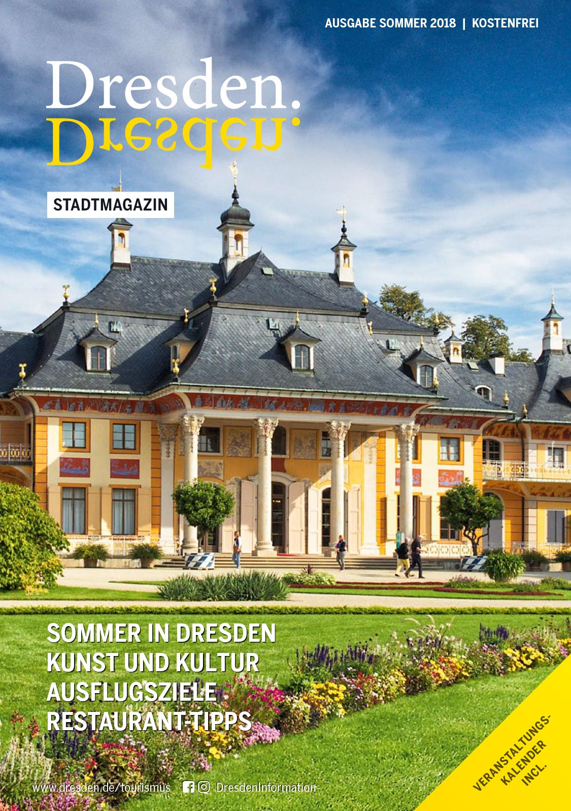 Calaméo - Dresden Stadtmagazin Sommer 2018