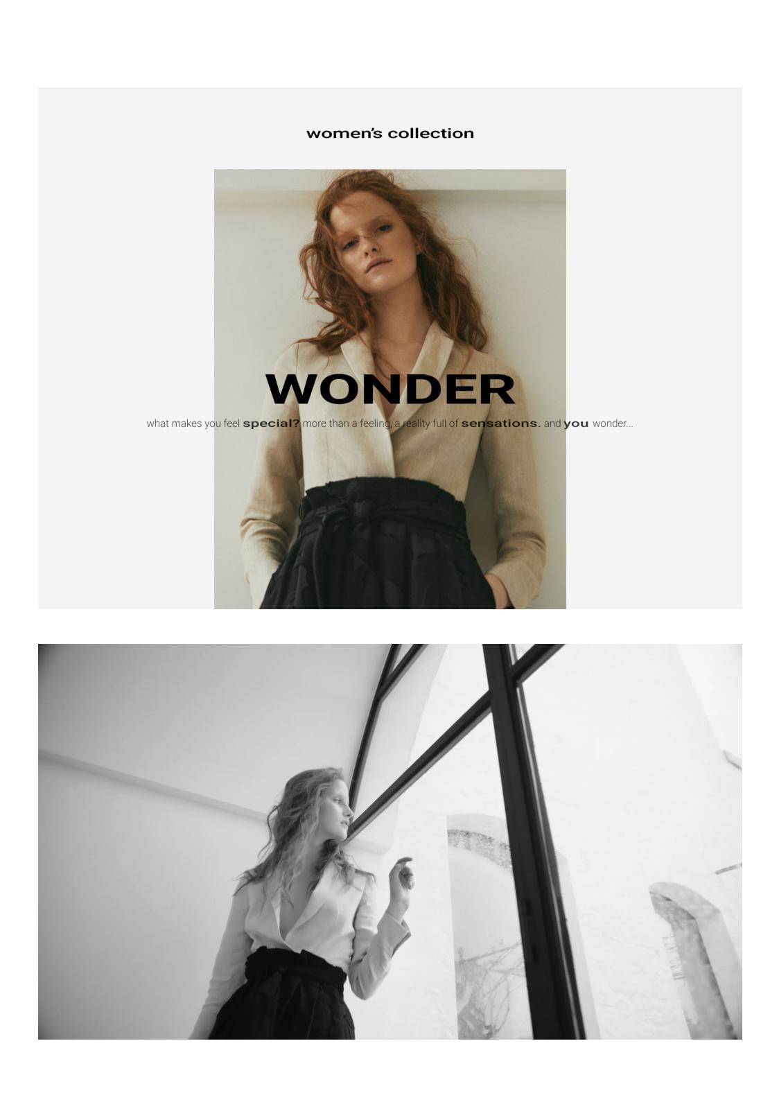 Massimo Dutti: Nueva Colección Wonder