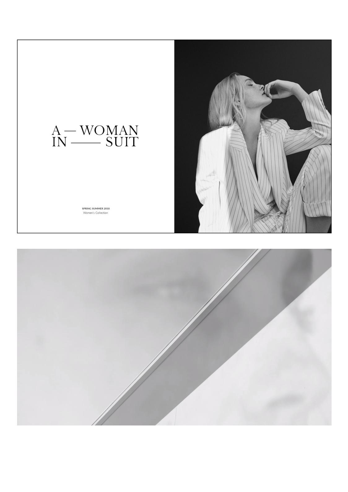 Massimo Dutti: Woman A Woman in Suit