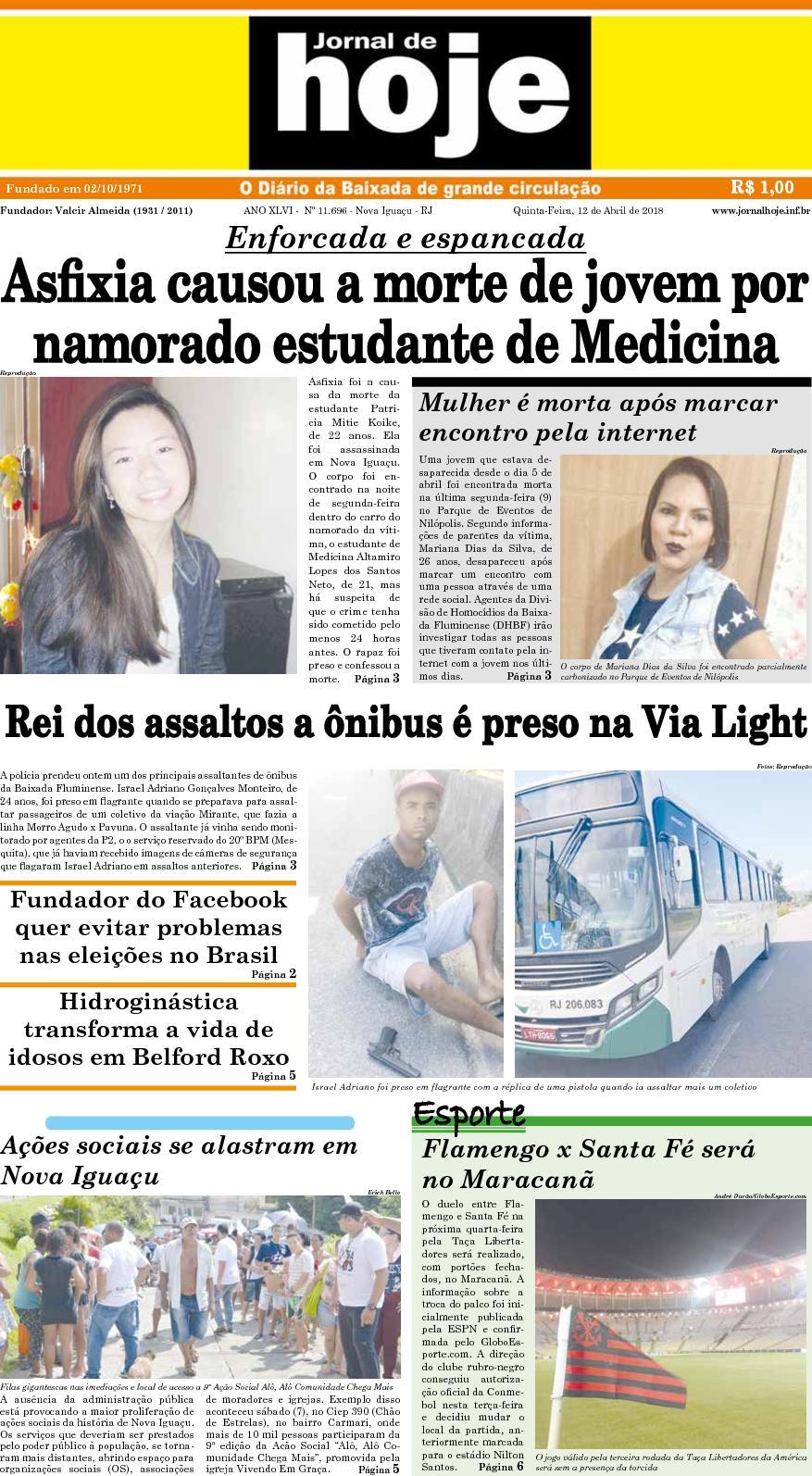 Jornal De Hoje 120418