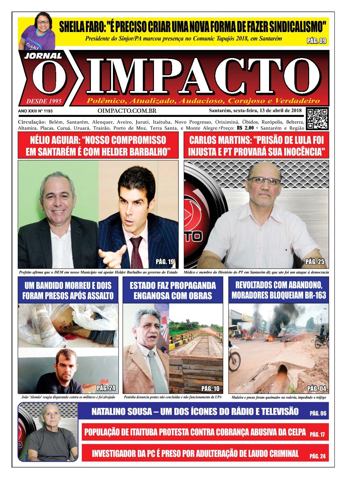 Calaméo - Jornal O Impacto Ed. 1193 fb53839d61