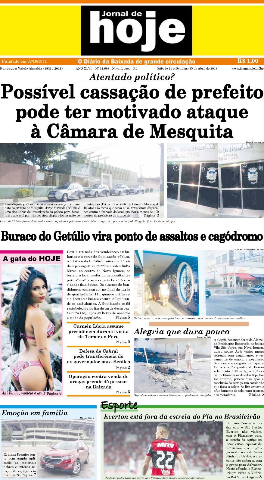 Jornal De Hoje 14 418