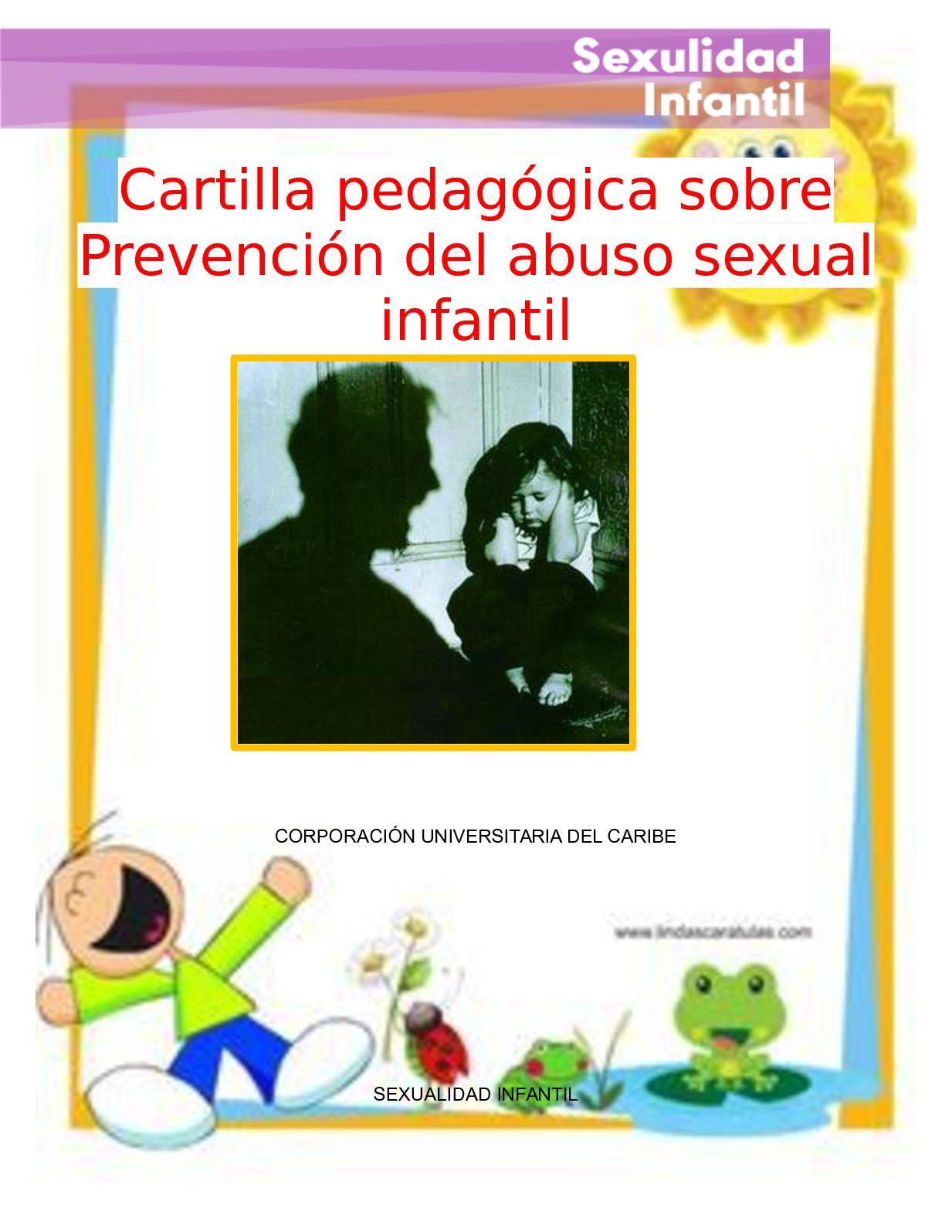 Calaméo - Cartilla Pedagógica Sobre Prevención de Abuso Sexual