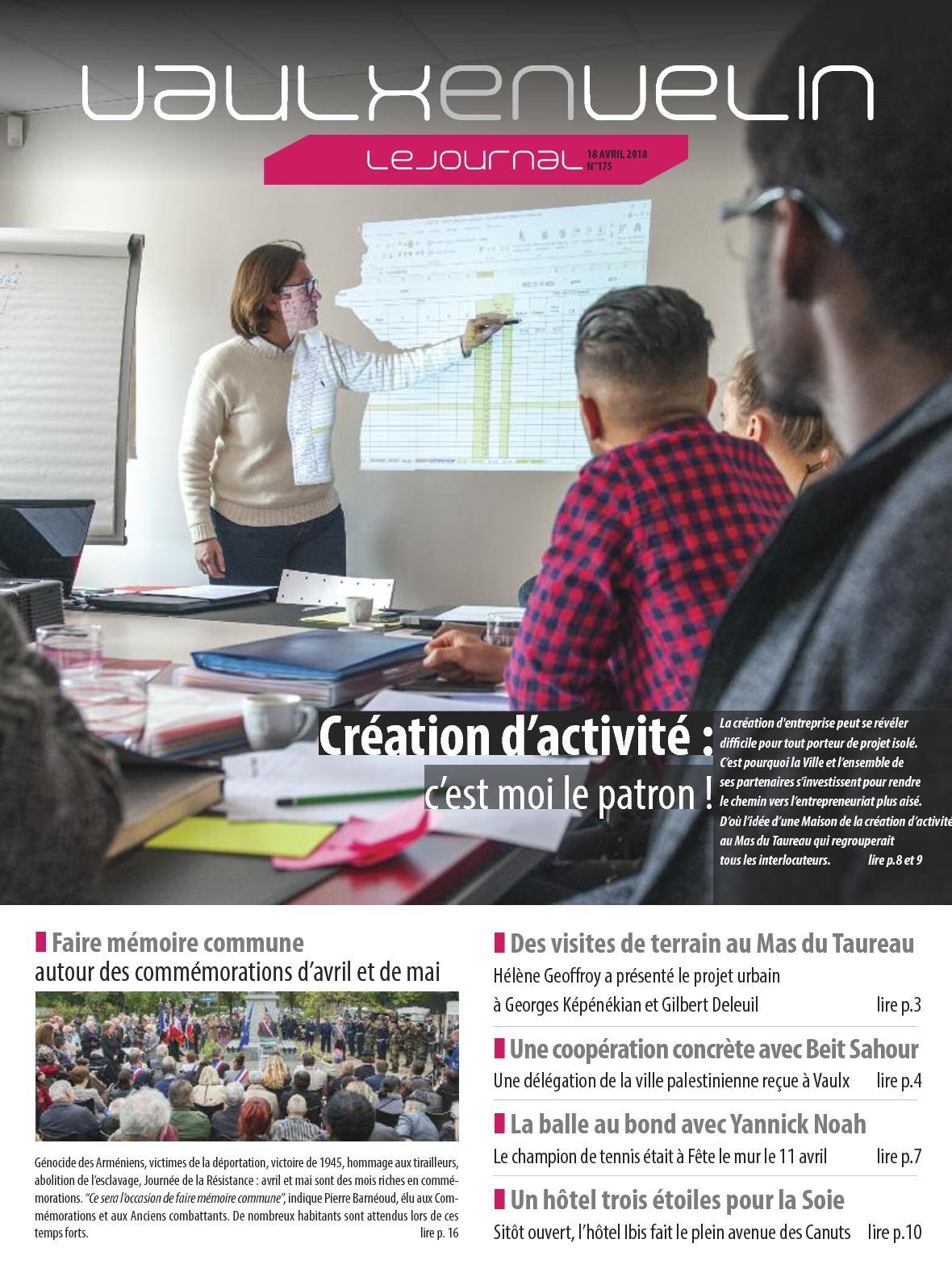 18 Vaulx 2018 Avril Journal En N°175 Calaméo Velin wXvBZxqZ