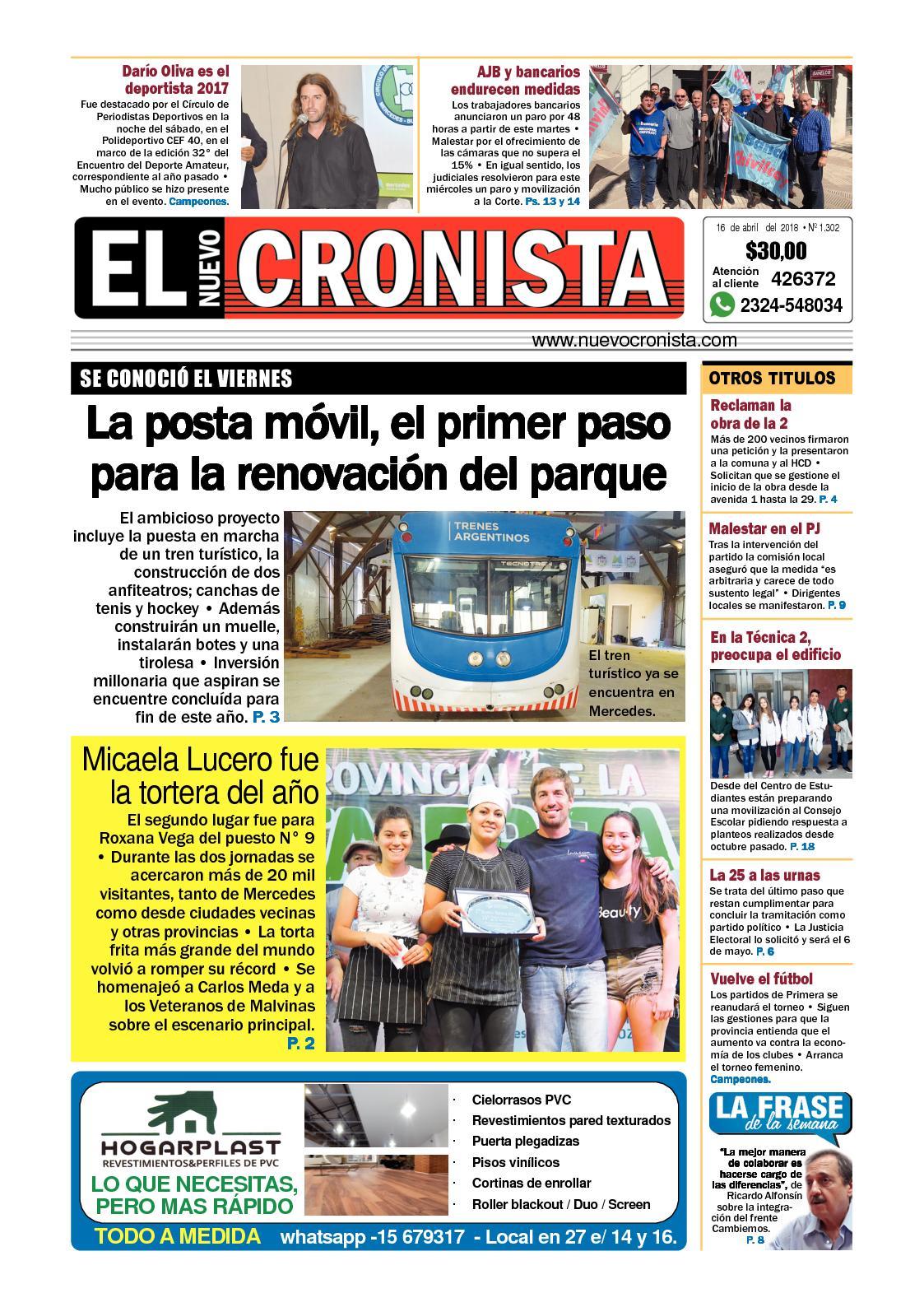 Calaméo - El Nuevo Cronista 16 04 2018