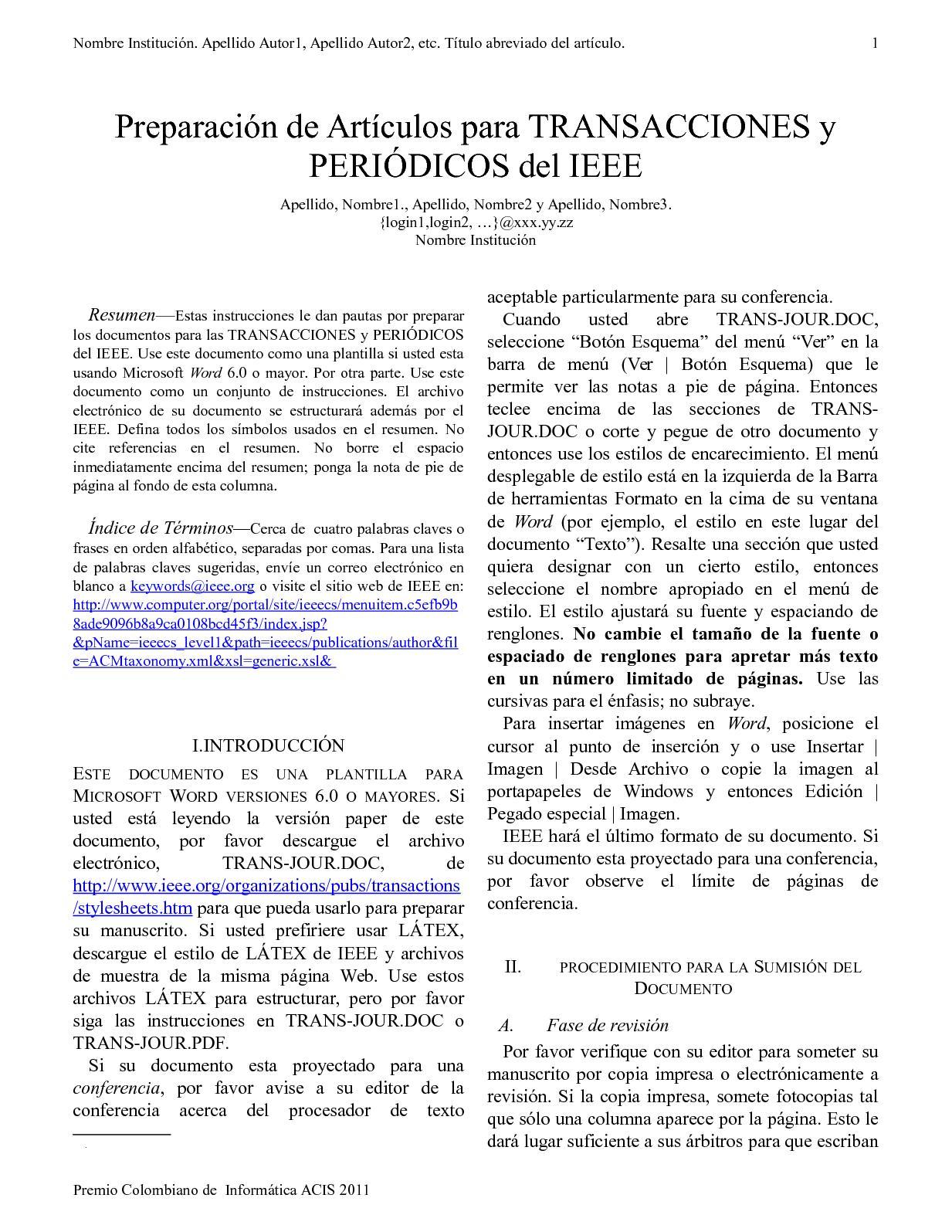 Calaméo - Formato Articulos Ieee