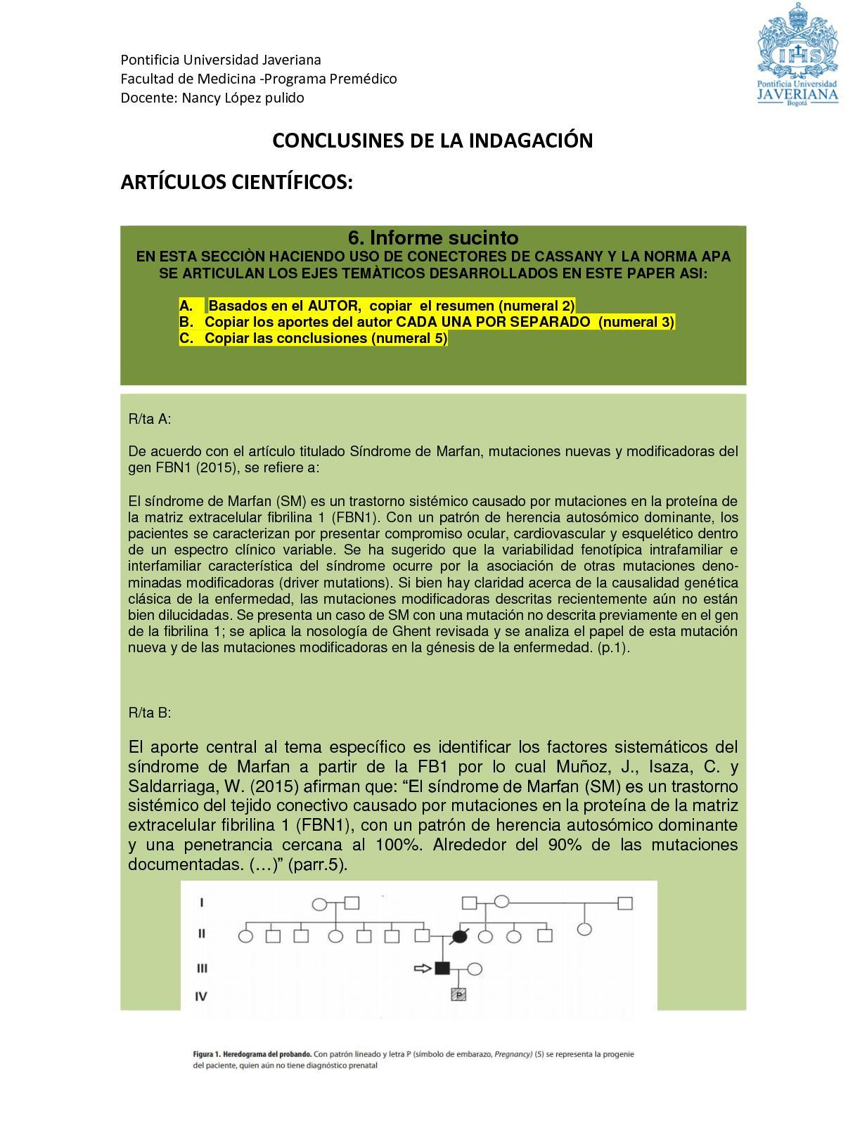 Calaméo - Conclusines De La Indagación