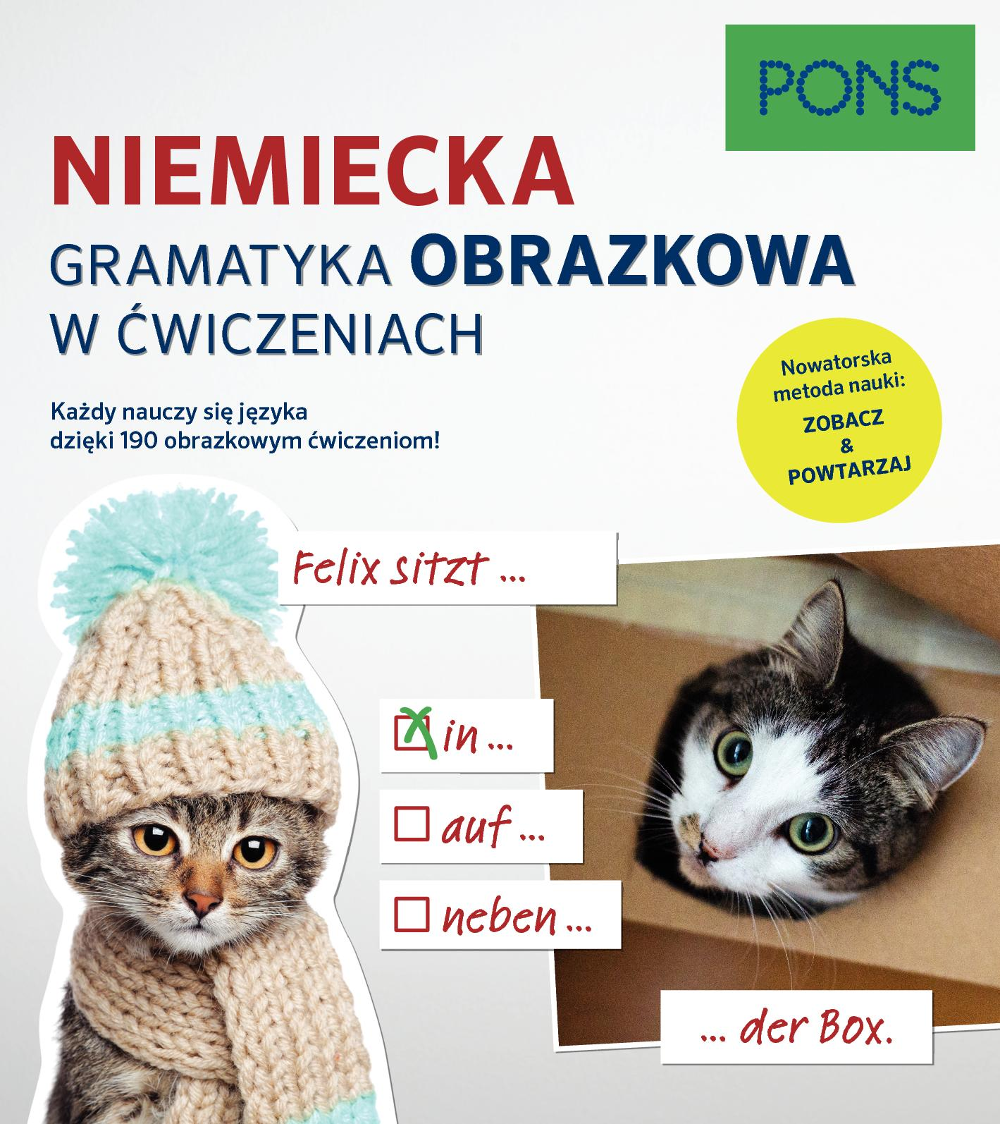 Gramatyka obrazkowa z ćwiczeniami niemiecka PONS