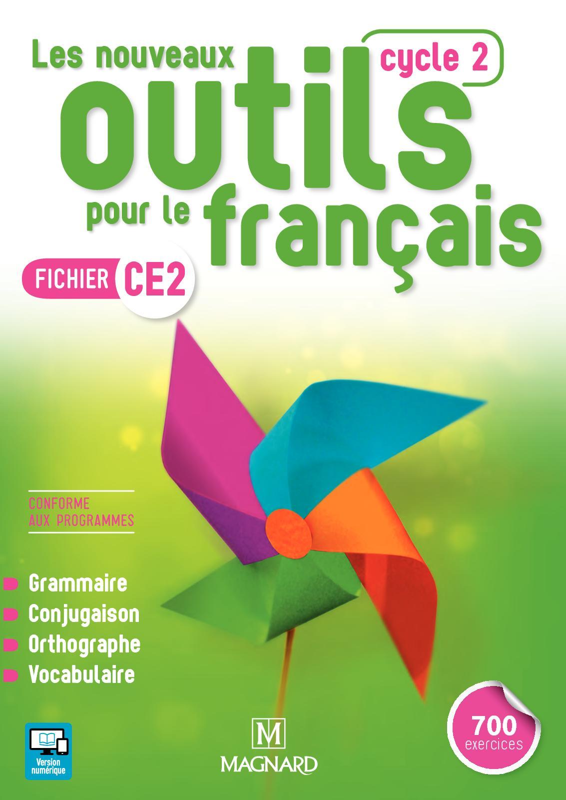 Extrait Les Nouveaux Outils pour le Français - Fichier CE2