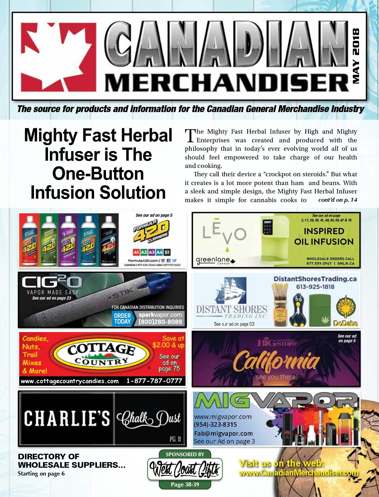 Calamo Canadian Merchandiser May2018 Ultrasonic Mist Fog Maker Power From Pc Supply Diy Guerilla Growing