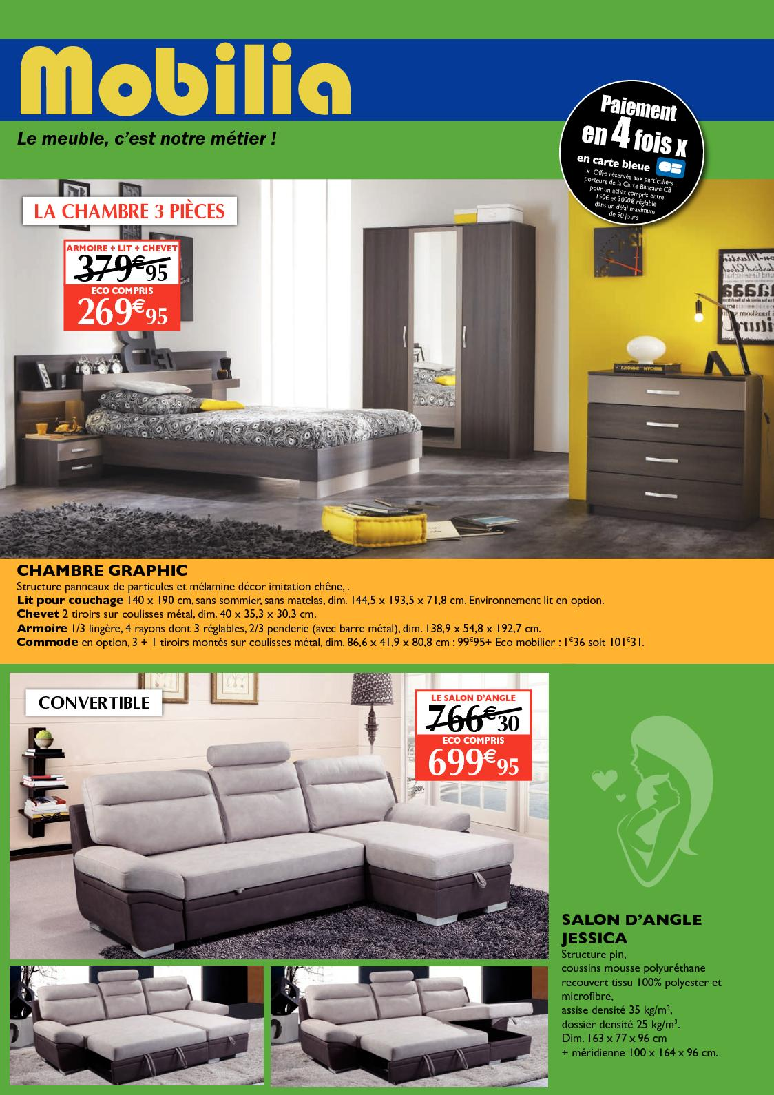 calam o catalogue mobilia guadeloupe mai. Black Bedroom Furniture Sets. Home Design Ideas