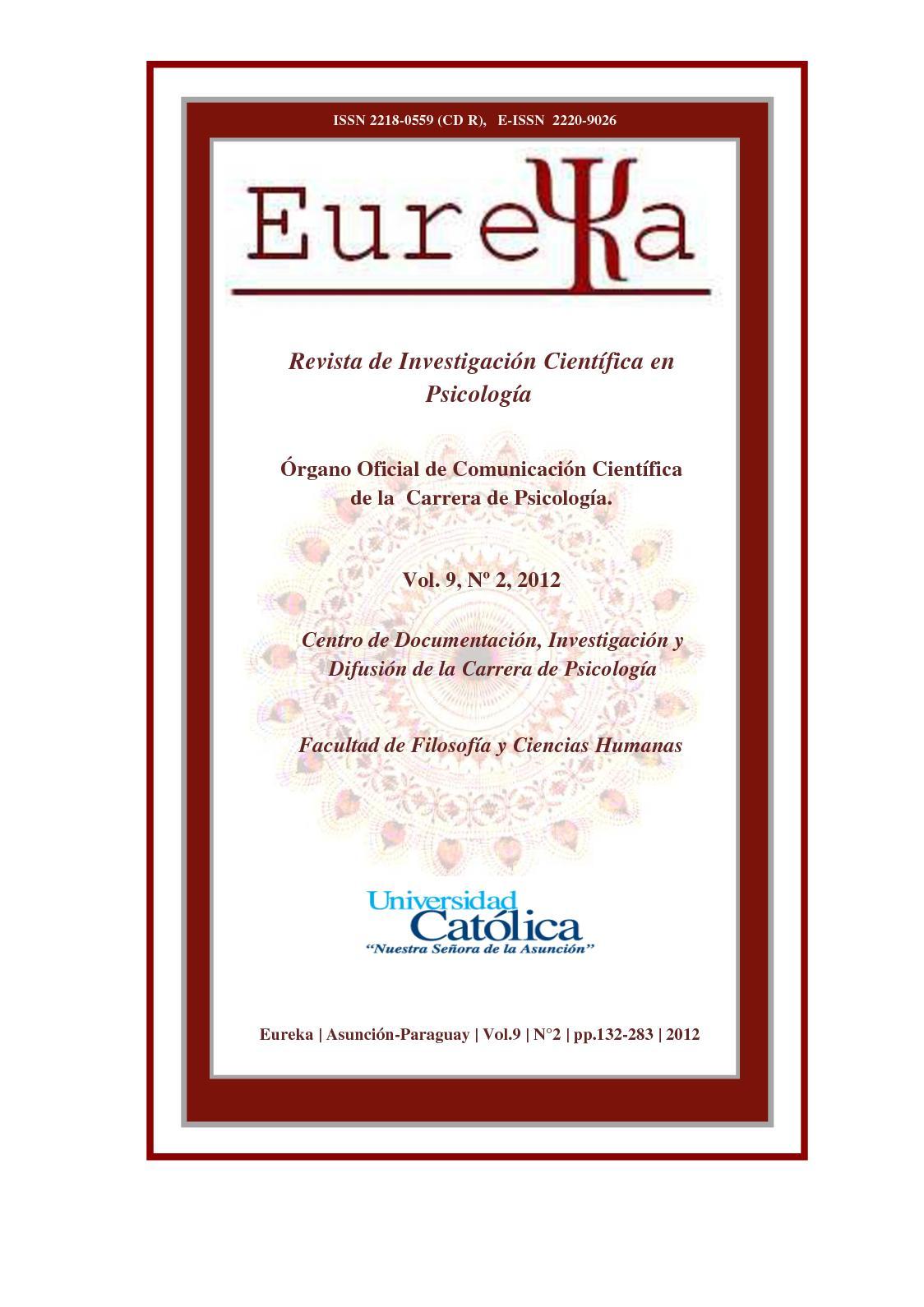 Calaméo - Eureka - Revista Psicología