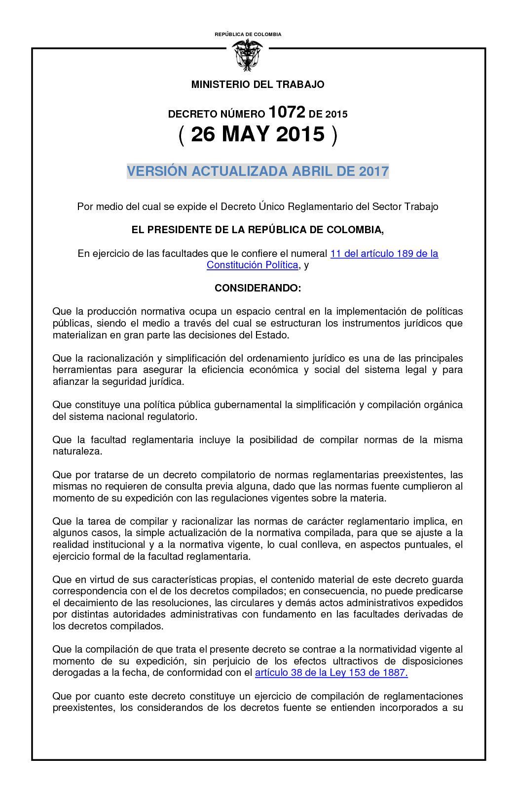 Calaméo - Dur Sector Trabajo Actualizado A Abril De 2017