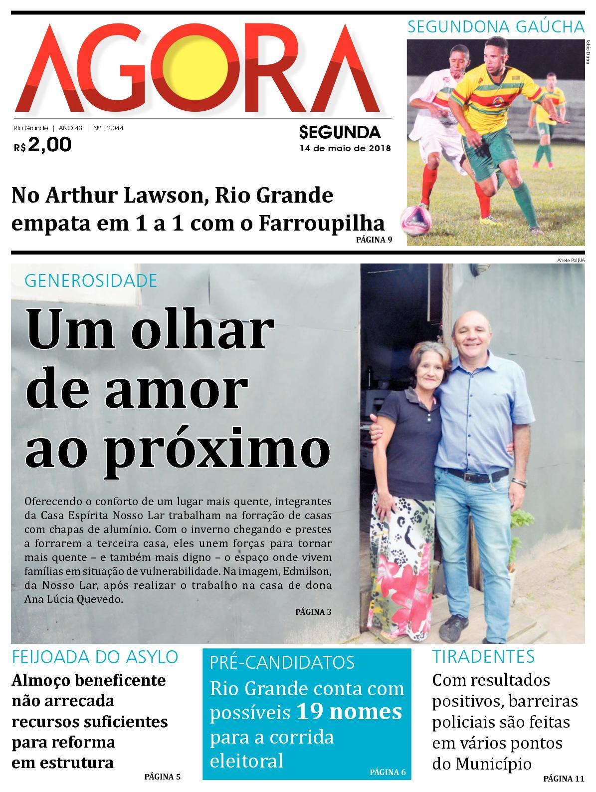 fce146c4423 Calaméo - Jornal Agora - Edição 12044 - 14 de Maio de 2018