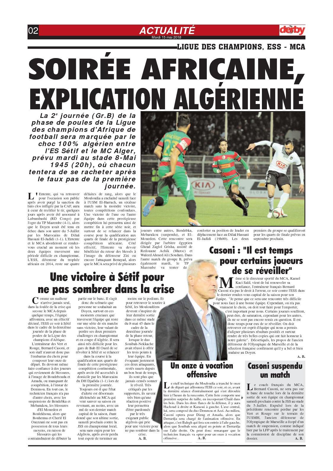 rencontre algerie 100