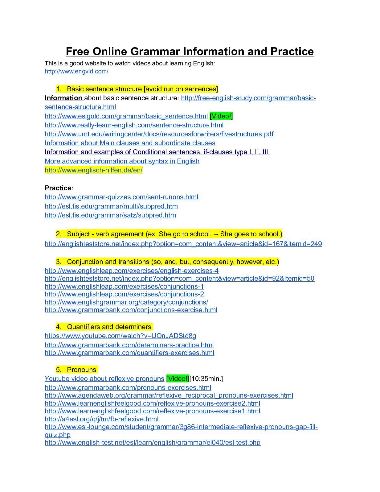 Calaméo - Free Online Grammar Information And Practice Publicar